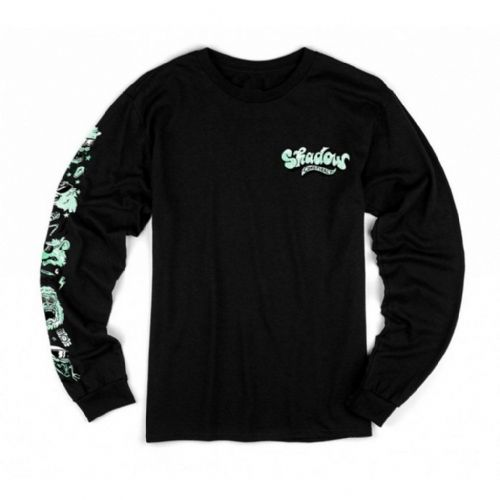 Shadow Shades L/S T-Shirt - Black Medium